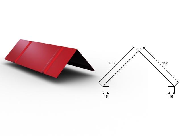 Klempířské prvky - ocel mat