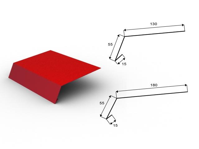 Klempířské prvky - ocel HDX