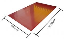Plech Mat - ocel 1,25 x 2,00