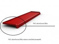 PVC ukončovací lišta